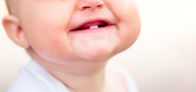 El proceso de dentición en los niños